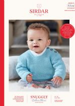 Sirdar Snuggly Baby Cashmere Merino DK Knitting Pattern - 5244 Sweaters